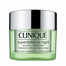 Clinique Superdefense Type 1 + 2 Night Recovery Moisturizer Moisturizer 50 ml