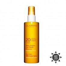 Clarins Spray Solaire Lait-Fluide Douceur Zonnespray 150 ml