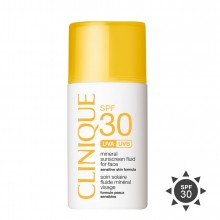Clinique Mineral Sunscreen Fluid For Face Zonnecreme 30 ml