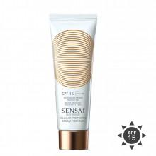SENSAI Silky Bronze Cellular Protective Cream for Face Zonnecreme 50 ml