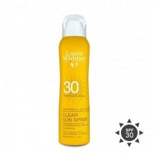 Louis Widmer Clear Sun Spray Zonder parfum Zonnespray 125 ml
