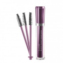M2 Beauté 3 Looks Black Nano Mascara Mascara 6 ml