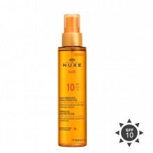 Nuxe Sun Tan Oil Spray SPF 10 Low Protection Zonneolie 150 ml