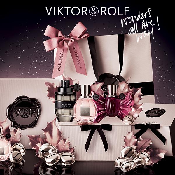 Ontvang nu een cadeau naar keuze bij aankoop van een Viktor & Rolf geur vanaf 50 ml *